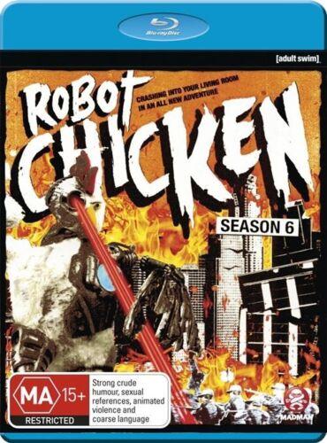1 of 1 - Robot Chicken : Season 6 (Blu-ray, 2013)