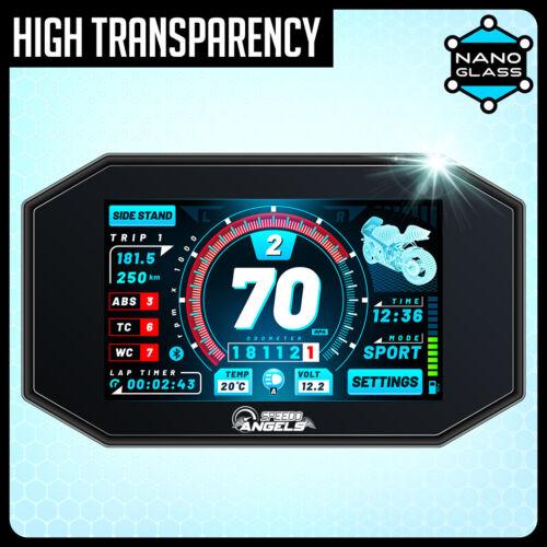 NANO GLASS 9H Armaturenbrett Tacho Displayschutzfolie x 2 KAWASAKI Z H2 2020-