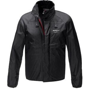 Spidi Negro Mens Rain debajo impermeable chaqueta la Chest Motocicleta Gear de TTrnw16qx