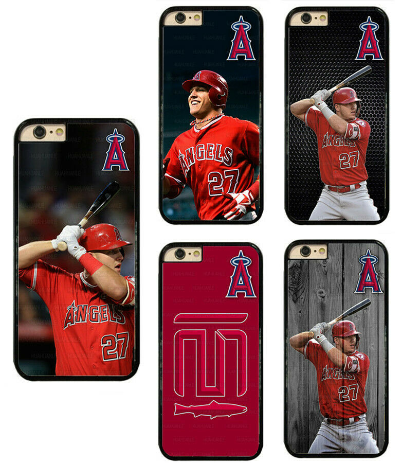 Mike Trout Los Angeles Angels Hard Phone Case For iPhone/ Touch ...