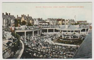 Essex-postcard-Band-Pavilion-and-Cliff-Clacton-on-Sea-A300