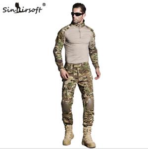 Tactical-Military-Combat-Uniform-Shirt-Pants-G3-Airsoft-GEN3-Camo-MultiCam-BDU