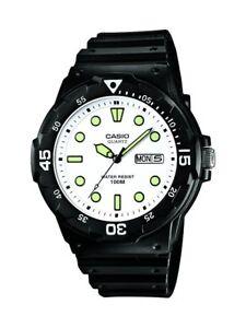 Casio-Collection-MRW-200H-7EVEF-Reloj-con-Pantalla-de-Neon-Hombre-Blanco-y-Verde