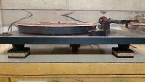 8-PLATEAU-TOURNANT-equipement-Isolation-Pads-Pieds-arrets-record-Skipping-aussi-Haut-parleurs