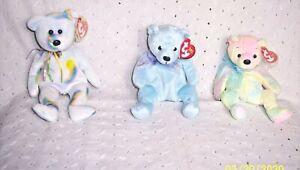 BEANIE BABY BEAR:MELLOW, LANI, CHEERY:NEW W/TAGS - YOU CHOOSE