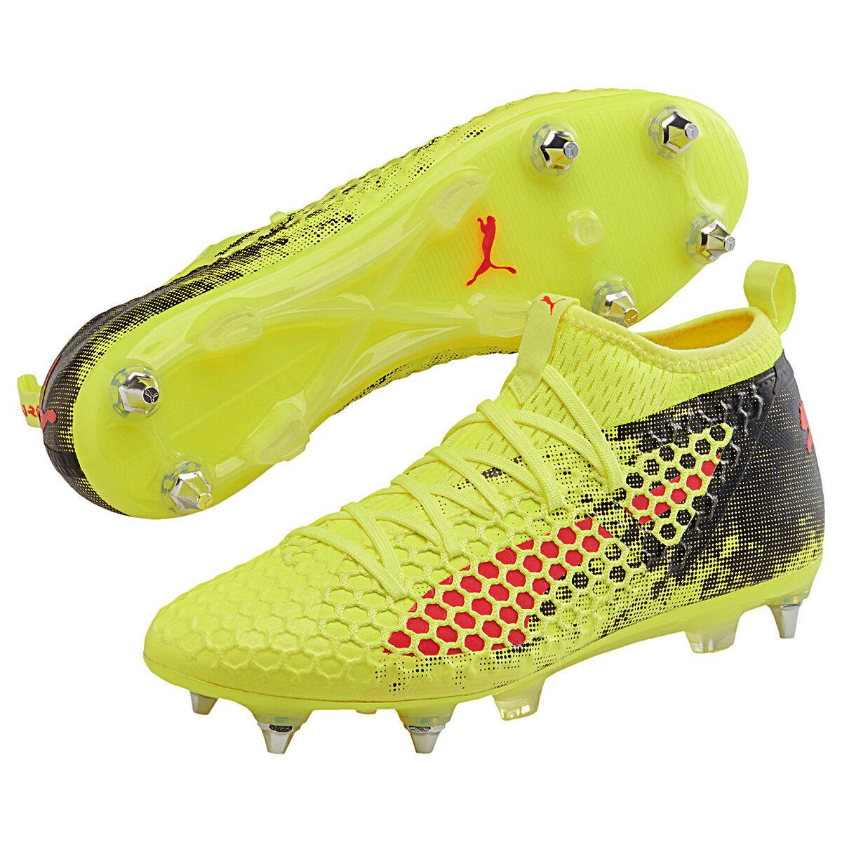 Puma botas Fútbol Hombre Futuro 18.2 Netfix Mx Sg Fútbol Amarillo 104319 01