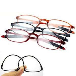 df85095cf3fd Image is loading TR90-Ultralight-Flexible-Reading-Glasses -Mens-Women-Rimless-