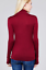 Women-Long-Sleeve-T-Shirt-Slim-Fit-Turtle-neck-Pullover-High-Tops-Casual-USA thumbnail 34