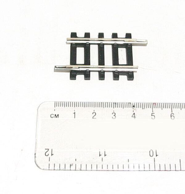 HORNBY R610 SINGLE SHORT STRAIGHT TRACK PIECES 38MM OO 00 GAUGE 1:76 SCALE