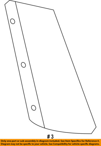 FORD OEM 11-15 Explorer Exterior-Upper Molding Trim Left BB5Z78290A61AA