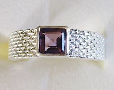 size 11 5.9 grams 1.35cts Men/'s Marialite Ring 925 Sterling Silver