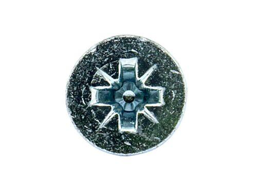 Ffx HH0111900130 7 x 1in twin-fil couronne tchécoslovaque vis à bois bzp 200pk