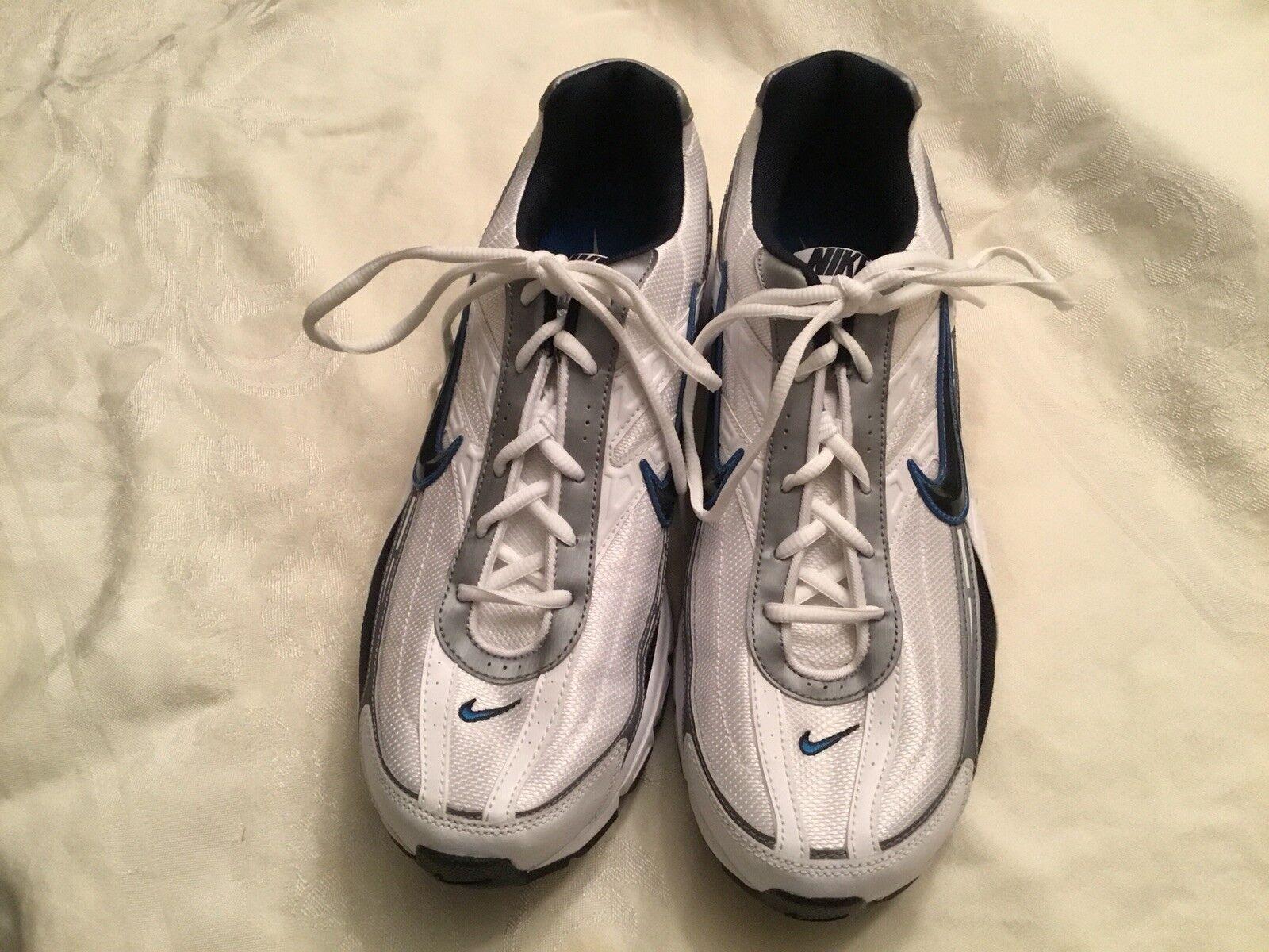 NWOB  NIKE INITIATOR Men's Running shoes White Size 12 BRAND NEW EC