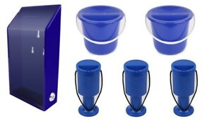 Charity-Value-Pack-1-Acrylic-Box-With-Lock-3-Hand-Held-Boxes-2-Buckets