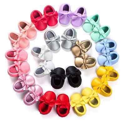 Niños recién nacidos Niño Bebé Mocasín Suave primera Walker Zapatos de suela antideslizante