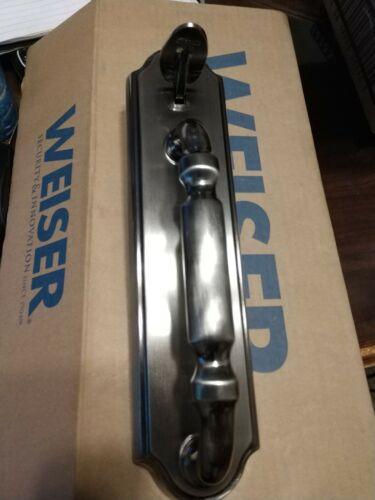 Weiser Outer Trim Entry Handles Antique Nickel 9GA97710-017