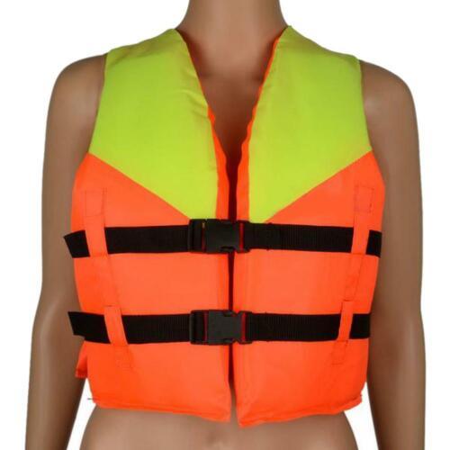 Youth Kids Polyester Life Jacket Swimming Boating Ski Kayak Buoyancy Aid Vest UK