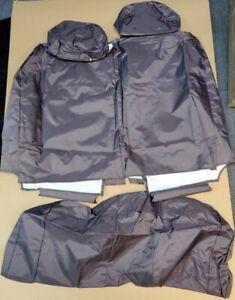GENUINE-MERCEDES-VITO-W447-WATERPROOF-FRONT-SEAT-COVERS-DARK-BROWN-B06930002