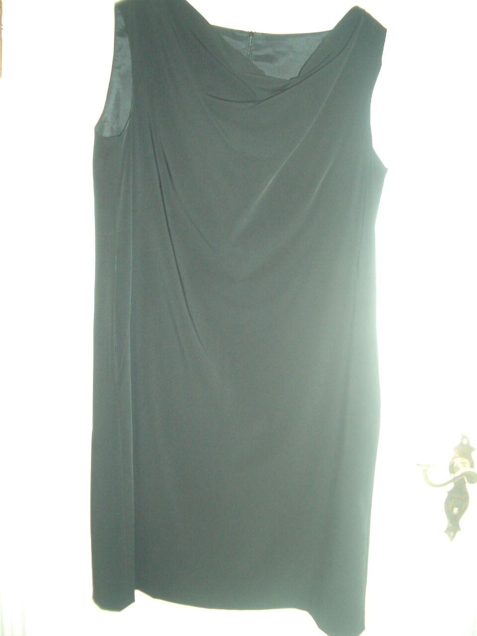 LUXUS DESIGNER ESCADA Etui Kleid EVENT black dress 42 44 NP1120,-STATEMENT TOP