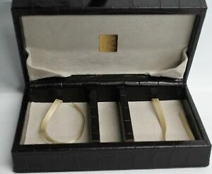 ASPINAL-OF-LONDON-Brown-Leather-amp-Suede-Jewellery-Storage-Box-Organiser-Small