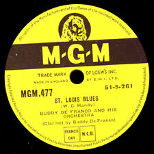 BUDDY DE FRANCO & HIS ORCH. St. Louis Blues -Modern Jazz- / The closer...  X1515