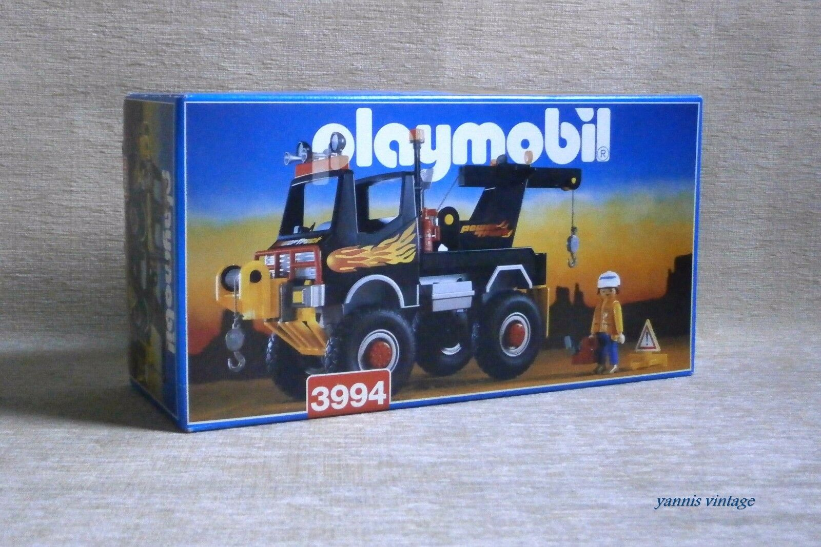 PLAYMOBIL   3994 Power Camion Nuovo in scatola sigillata RACING MADE IN SPAGNA 1998 NUOVO IN SCATOLA SIGILLATA