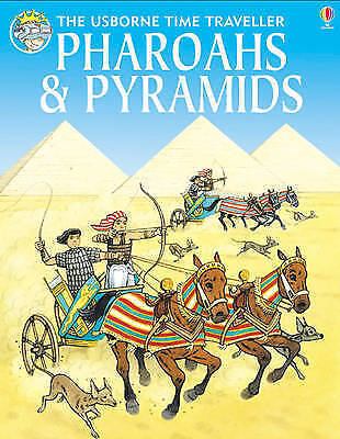 1 of 1 - Pharaohs and Pyramids (Usborne Time Traveller), Allen, Anthony, Good Condition B
