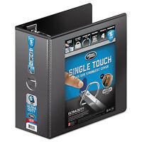 Wilson Jones Ultra Duty D-ring View Binder W/extra-durable Hinge 5 Cap Black on sale