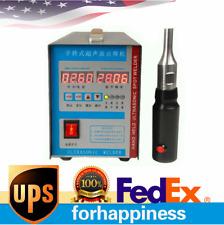 110v 28khz High Frequency Portable Ultrasonic Plastic Welder Plastic Spot Welder