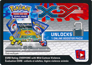 2-x-Pokemon-XY-Base-Booster-Pack-Online-TCGO-Code-Card-Redeems-Online