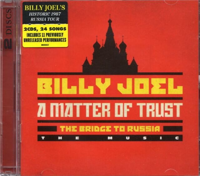 Billy Joel - The Bridge To Russia (2 x CD) Live 1987 Moscow & Leningrad (New)