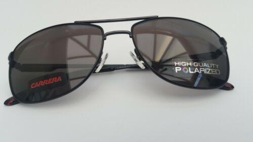 Occhiali da sole CARRERA 65 Nero Polarized-SUPERBA Nuovo di zecca Risparmio enorme!