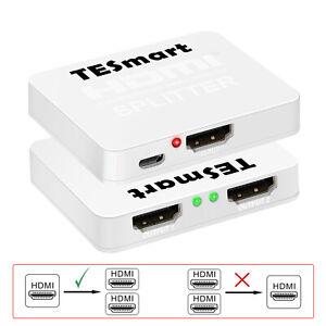 Ultra-HD-display-2-Port-HDMI-Splitter-Box-Support-4K-60Hz-4-4-4-HDCP2-2-HDR-EDID