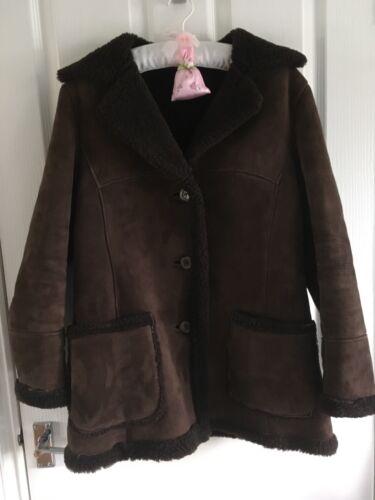 Of Glastonbury in medio pelle Cappotto Bailys di marrone pecora vwFxB