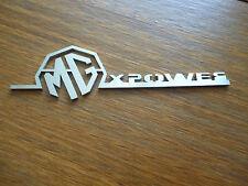 MG X Power Badge ZR TT ZT ZS ZT-T 45 400