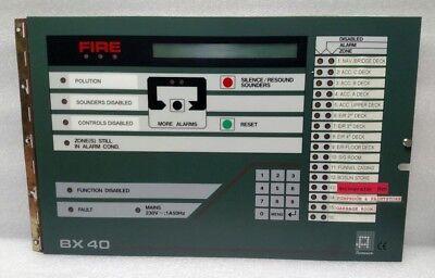 Autronica Bx40 Fire Alarm Control Panel Ebay