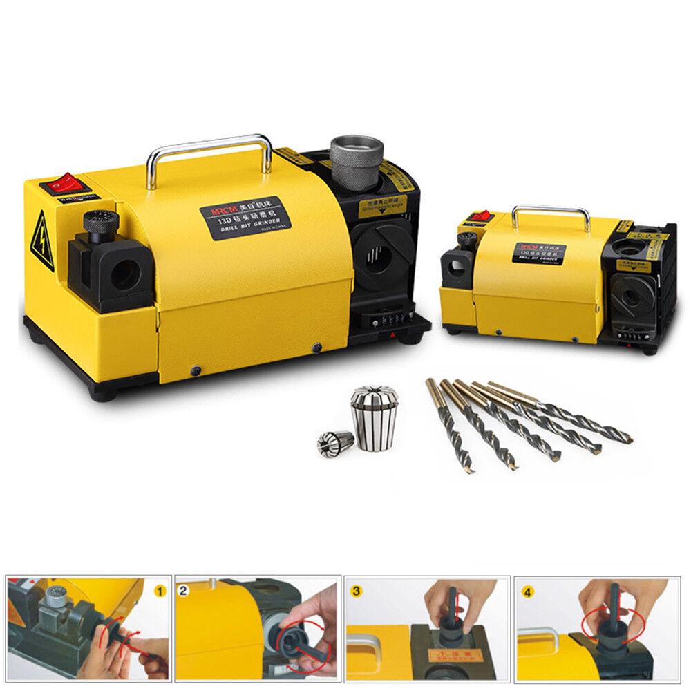 Drill Bit Grinder Grinding Machine Drill Sharpener 2.5-15 mm MR-13B CE