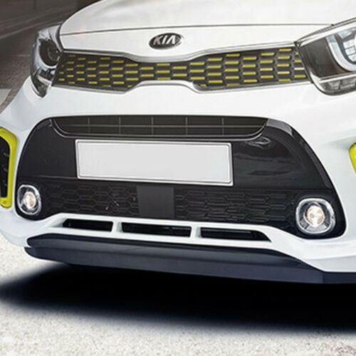 OEM Parts Front Bumper Fog Lamp Chrome Ring LH RH for KIA 2018 Picanto Morning