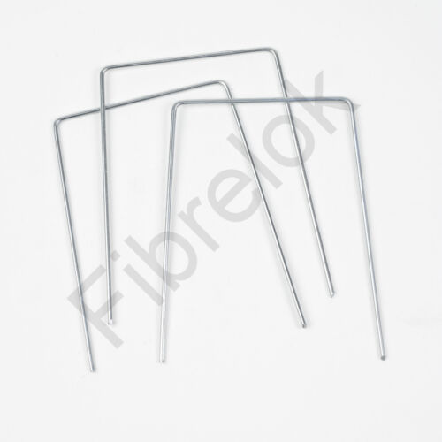 Garden Ground Pegs Pins Staples for Weed Control Fabric Membrane Cover X 50