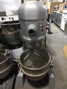 HOBART 60 QUART 60-QT PIZZA DOUGH RESTAURANT FLOOR MIXER ...
