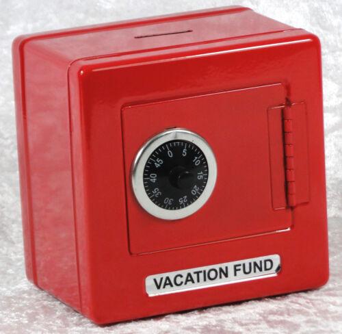 Blechspielzeug Blechspielzeug R 436 Metall-Tresor rot lackiert