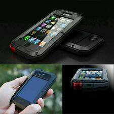 STRONG Metal Aluminum Waterproof Shockproof Gorilla Cover Case for iPhone 5/5S