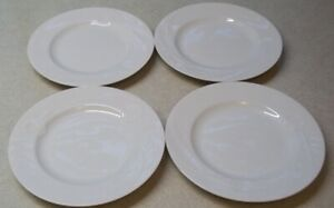 SET-OF-8-Mikasa-Classic-Flair-White-7-Bread-amp-Butter-Plates-Japan-perfect-cond