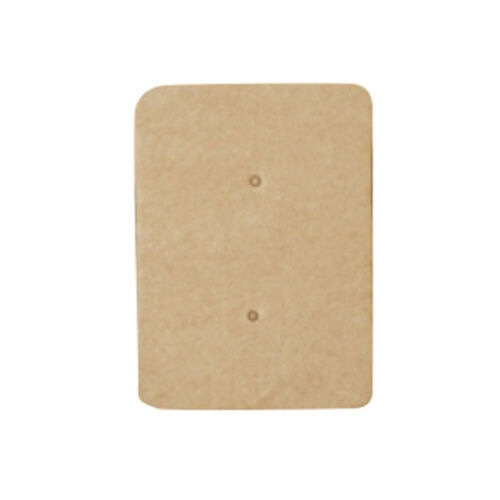 50xPro Display Type Earring Ear Studs Holder Hang Hanging Kraft Paper Cards YLYL