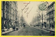 cpa Fleury PARIS en 1907 La Rue d'ALESIA à Eulalie BOURGOIGNON de ROYAT