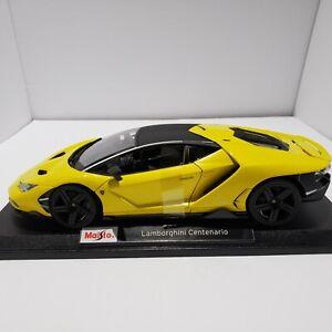 Brand new Maisto Lamborghini Centenario 1:18 Special Edition Diecast Car