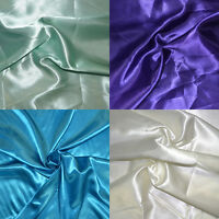 Bridal Satin Fabric 58 Wide By The Yard Home Decor & Special Occasion