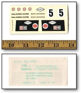 1//32 ELDON DODGE Stock car slot car decal sheets 5 to chose from