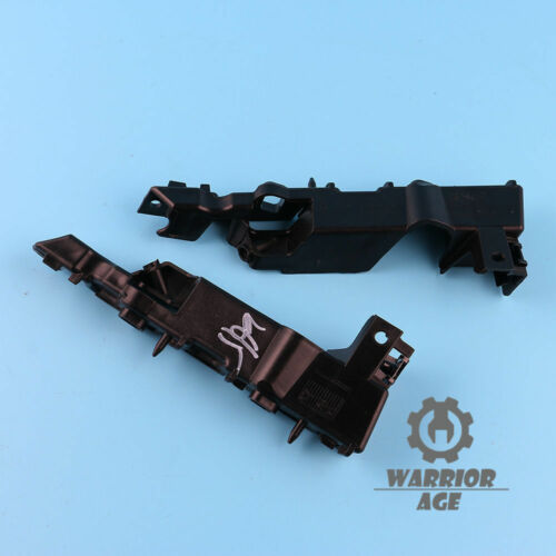 x2 L/&R New For AUDI A6 S6 C7 Front Support Bumper Bracket Grille Mounting Guide