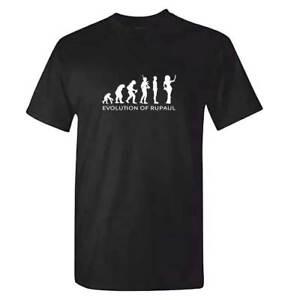 Unisex-Evolution-Of-Rupaul-Tshirt-Ru-Paul-T-Shirt-Drag-Queen-Race-Clothing